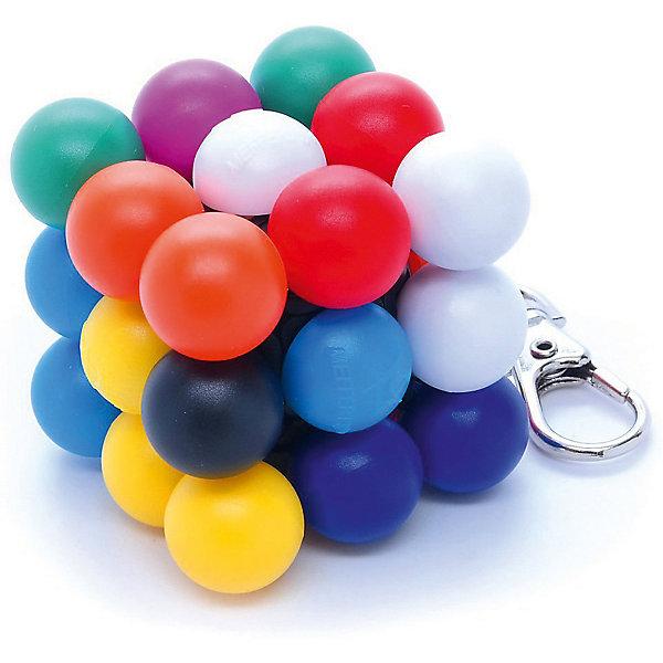 Брелок-головоломка Mefferts Мини МолекубГоловоломки Кубик Рубика<br>Характеристики:<br><br>• игрушка-брелок;<br>• брелок с карабином на цепочке;<br>• головоломка вращается, на каждой из сторон собирается 1 из 9 цветов;<br>• вариант 3D-Судоку: цвет обозначается цифрой от 1 до 9, всего 26 цифр, которые расставляются на 6 сторонах;<br>• Молекуб - числа заменены цветами;<br>• размер головоломки Mefferts: 4,5х4,5х4,5 см;<br>• материал: пластик;<br>• размер упаковки: 5х5х12 см;<br>• вес: 100 г.<br><br>Головоломка Молекуб используется для тренировки логического мышления и умственных способностей. Задача игрока: собрать на каждой из сторон 9 уникальных цветов. Брелок мини Молекуб имеет кольцо и цепочку, чтобы носить головоломку на ключах или рюкзаке. Цепочка отсоединяется, чтобы было удобнее крутить головоломку. Мини-карабинчик позволяет прикрепить цепочку к корпусу игрушки.<br><br>Брелок-Головоломка «Мини-Молекуб», можно купить в нашем интернет-магазине.<br>Ширина мм: 50; Глубина мм: 50; Высота мм: 120; Вес г: 100; Возраст от месяцев: 96; Возраст до месяцев: 2147483647; Пол: Унисекс; Возраст: Детский; SKU: 7272123;