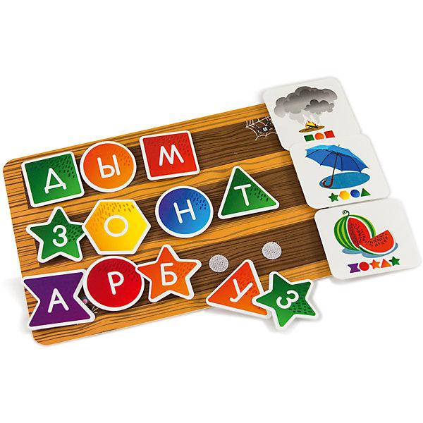 Настольная игра PicnMix Интерактивная азбукаНастольные игры для всей семьи<br>Характеристики товара:<br><br>• возраст: от 3 лет;<br>• материал: картон, полипропилен;<br>• в комплекте: 30 карточек, 2 комплекта букв, чемоданчик, методическое пособие;<br>• размер упаковки: 25х16х5,2 см;<br>• вес упаковки: 500 гр.;<br>• страна производитель: Россия.<br><br>Игра настольная развивающая «Интерактивная азбука» PicnMix познакомит малышей с буквами алфавита, научит их правильному произношению, составлению новых слов. Игра развивает логическое мышление, внимательность, тренирует память, обогатит словарный запас.<br><br>Игру настольную развивающую «Интерактивная азбука» PicnMix можно приобрести в нашем интернет-магазине.<br>Ширина мм: 250; Глубина мм: 52; Высота мм: 160; Вес г: 500; Возраст от месяцев: 36; Возраст до месяцев: 2147483647; Пол: Унисекс; Возраст: Детский; SKU: 7272933;