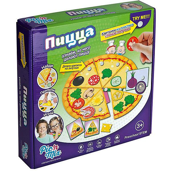 Настольная игра PicnMix Аркадий Паровозов. ПиццаНастольные игры для всей семьи<br>Характеристики товара:<br><br>• возраст: от 1 года;<br>• материал: картон, пластик;<br>• в комплекте: 6 игровых полей, 12 карточек, 21 прикрепляемый элемент, пособие;<br>• количество игроков: от 1 до 4 человек;<br>• размер упаковки: 25х16х5,4 см;<br>• вес упаковки: 338 гр.;<br>• страна производитель: Россия.<br><br>Игра настольная развивающая «Аркадий Паровозов. Пицца» PicnMix — увлекательная игра для малышей, в которой они будут создавать свою пиццу. Каждый игрок должен на своем игровом поле добавить недостающие элементы пиццы. Методическое пособие поможет придумать разнообразные игры. Игра тренирует память, логическое мышление, зрительное восприятие.<br><br>Игру настольную развивающую «Аркадий Паровозов. Пицца» PicnMix можно приобрести в нашем интернет-магазине.<br>Ширина мм: 250; Глубина мм: 54; Высота мм: 160; Вес г: 338; Возраст от месяцев: 12; Возраст до месяцев: 2147483647; Пол: Унисекс; Возраст: Детский; SKU: 7272935;