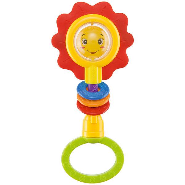 Погремушка Happy Baby Flower TwistИгрушки для новорожденных<br>Характеристики:<br><br>• развивающая погремушка;<br>• внутри контейнера находятся цветные бусинки;<br>• шумовой эффект перекатывающихся бусин;<br>• наличие прорезывателя;<br>• удобное кольцо-держатель;<br>• материал: полипропилен;<br>• не содержит бисфенол-А;<br>• размер упаковки: 24х13,3х4 см;<br>• вес: 81 г.<br><br>Погремушка с прорезывателем привлекает внимание малыша ярким оформлением, звенящим звуком перекатных бусинок. Мягкие рельефные лепесточки можно «погрызть» в период прорезывания зубок малыша. Массирование десен помогает внять болевые ощущения. Улыбчивая мордашка цветочка вызывает положительные эмоции. <br><br>Погремушку «Flower Twist» можно купить в нашем интернет-магазине.<br><br>Ширина мм: 13<br>Глубина мм: 4<br>Высота мм: 24<br>Вес г: 81<br>Возраст от месяцев: 3<br>Возраст до месяцев: 36<br>Пол: Унисекс<br>Возраст: Детский<br>SKU: 7276410