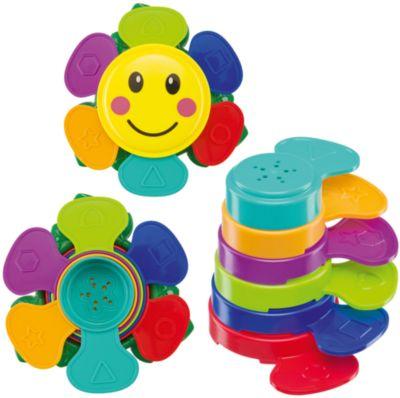 Пирамидка для ванны Happy Baby Flower Puzzle
