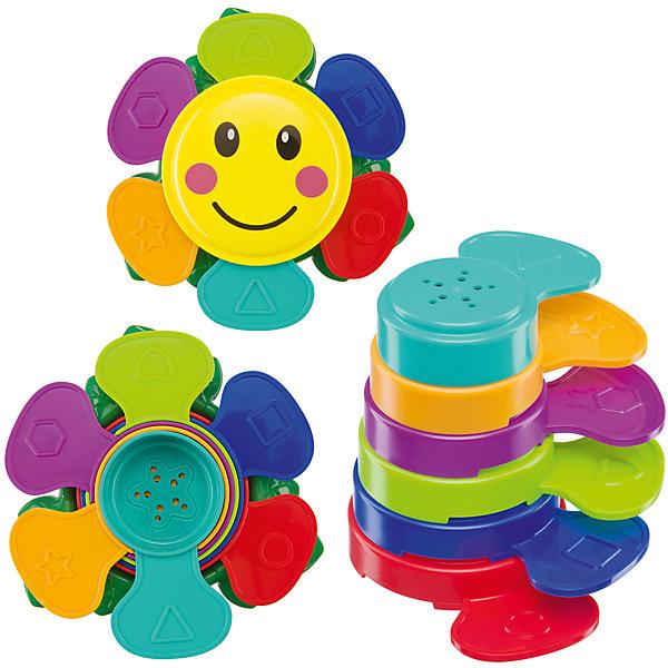 Пирамидка для ванны Happy Baby Flower PuzzleИгрушки для ванной<br>Характеристики:<br><br>• игрушки для ванной;<br>• изучение геометрических фигур, цветов и форм;<br>• возможность совместить купание и обучение;<br>• улыбчивые мордашки поднимают настроение;<br>• материал: пластик;<br>• размер упаковки: 20х5х26,7 см;<br>• вес: 323 г.<br><br>Игрушки для ванной позволяют превратить процесс купания в увлекательный процесс с элементами обучения. Игрушки ярко оформлены, можно обратить внимание малыша на каждый лепесточек, поочередно называя каждый цвета. На всех лепестках изображены различные геометрические фигуры. В процессе игры ребенок легче запоминает и воспроизводит информацию. <br><br>Набор игрушек для ванной «Flower Puzzle» можно купить в нашем интернет-магазине.<br><br>Ширина мм: 20<br>Глубина мм: 5<br>Высота мм: 26<br>Вес г: 323<br>Возраст от месяцев: 6<br>Возраст до месяцев: 36<br>Пол: Унисекс<br>Возраст: Детский<br>SKU: 7276412