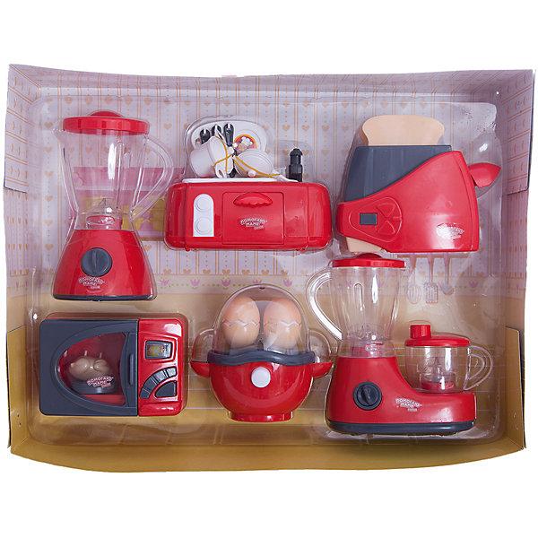 Игровой набор Abtoys Помогаю маме Мини-кухняИгрушечная бытовая техника<br>Характеристики товара:<br><br>• возраст: от 3 лет;<br>• материал: пластик;<br>• в комплекте: плита, кофеварка, микроволновая печь, яйцеварка, тостер, соковыжималка, яйцо 2 шт., курица, хлеб 2 шт., ложка, вилка, ножик, кастрюля с крышкой, сковорода с крышкой, кран;<br>• тип батареек: 12 батареек АА;<br>• наличие батареек: в комплект не входят;<br>• размер упаковки: 38х28х9,5 см;<br>• вес упаковки: 900 гр.;<br>• страна производитель: Китай.Игровой набор «Помогаю маме. Кухонная техника» Abtoys познакомит юную хозяйку с устройством и назначением кухонной техники и позволит приготовить вкусные блюда своим любимым куклам. Игрушки оснащены световыми и звуковыми эффектами. Игрушки выполнены из качественного пластика. <br><br>Игровой набор «Помогаю маме. Кухонная техника» Abtoys можно приобрести в нашем интернет-магазине.<br>Ширина мм: 380; Глубина мм: 95; Высота мм: 280; Вес г: 900; Возраст от месяцев: 36; Возраст до месяцев: 120; Пол: Женский; Возраст: Детский; SKU: 7276540;