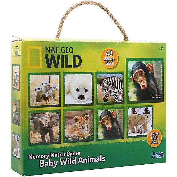 Игра настольная, развивающая Детеныши диких животных. Возраст: 4+Обучающие карточки<br>Характеристики товара:<br><br>• возраст: от 3 лет; <br>• количество деталей: 48 шт.;<br>• материал: плотный картон;<br>• упаковка: картонная коробка;<br>• размер упаковки: 7х1х7 см.;<br>• размер пазла: 30х30 см.;<br>• страна обладатель бренда: США.<br><br>Настольная игра включает в себя карточки, на которых изображены детеныши диких животных. <br><br>В эту игру можно играть всей семьей. Она заключается в том, чтобы убрать со стола карточки с одинаковыми изображениями. Тот, у кого наберется больше всего карточек считается победителем.<br><br>Настольную игру можно купить в нашем интернет-магазине.<br><br>Ширина мм: 9999<br>Глубина мм: 9999<br>Высота мм: 9999<br>Вес г: 9999<br>Возраст от месяцев: 36<br>Возраст до месяцев: 84<br>Пол: Унисекс<br>Возраст: Детский<br>SKU: 7276650