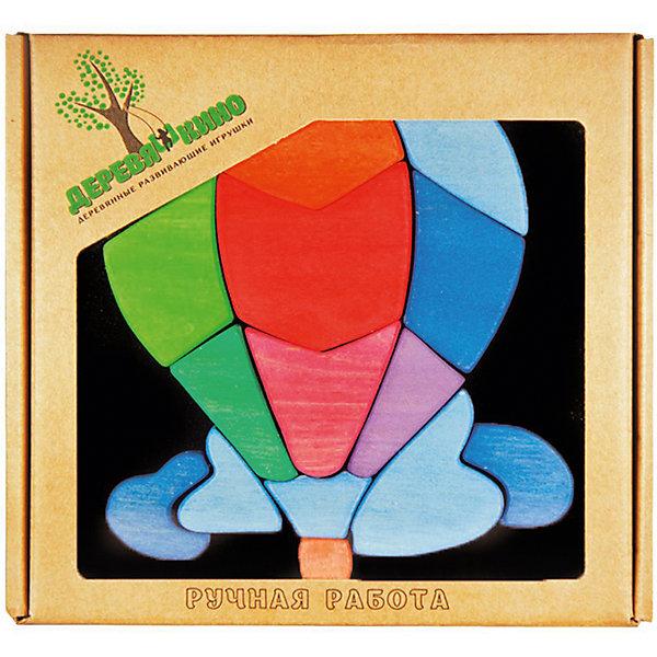 Магнитный пазл Воздушный шарПазлы для малышей<br>Характеристики товара:<br><br>• возраст: от 3 лет;<br>• количество деталей: 15 шт.; <br>• комплект: магнитная доска, элементы пазла;<br>• материал: дерево, магнит;<br>• размер упаковки: 20x20x3 см.;<br>• упаковка: картонная коробка;<br>• cтрана обладатель бренда: Россия.<br><br>Головоломка на магнитной доске поможет ребенку собрать интересную картинку из деревянных элементов. <br><br>Правильно объединив все детали на магнитной доске, малыш сможет получить объемную картину с изображением воздушного шара в облаках. <br><br>Каждый элемент головоломки выполнен из качественно обработанного и окрашенного дерева, поэтому пазл безопасен для малыша. <br><br>Магнитный пазл Воздушний шар можно купить в нашем интернет-магазине.<br>Ширина мм: 30; Глубина мм: 200; Высота мм: 200; Вес г: 510; Возраст от месяцев: 36; Возраст до месяцев: 84; Пол: Унисекс; Возраст: Детский; SKU: 7276696;