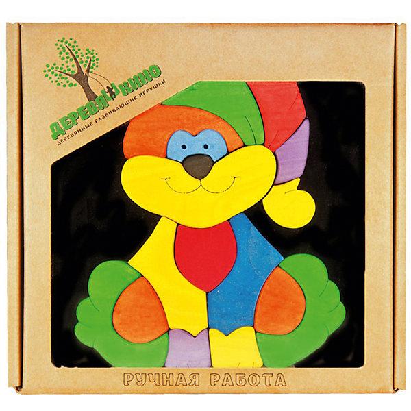 Магнитный пазл КотикПазлы для малышей<br>Характеристики товара:<br><br>• возраст: от 3 лет; <br>• количество деталей: 17 шт.; <br>• комплект: магнитная доска, элементы пазла;<br>• материал: дерево, магнит;<br>• размер упаковки: 20x20x3 см.;<br>• упаковка: картонная коробка;<br>• размер магнитной доски: 20х20 см.;<br>• cтрана обладатель бренда: Россия.<br><br>Котик это набор деревянных элементов, которые нужно расположить в правильном порядке на магнитной доске, также входящей в комплект. <br><br>Чтобы получить изображение веселого кота, нужно потрудиться: понять, где и какая деталь должна лежать. Магниты надежно удержат яркие деревяшки на месте.<br><br>Игра с такой головоломкой отлично развивает образное мышление и логику.<br><br>Магнитный пазл можно купить в нашем интернет-магазине.<br>Ширина мм: 30; Глубина мм: 200; Высота мм: 200; Вес г: 450; Возраст от месяцев: 36; Возраст до месяцев: 84; Пол: Унисекс; Возраст: Детский; SKU: 7276703;