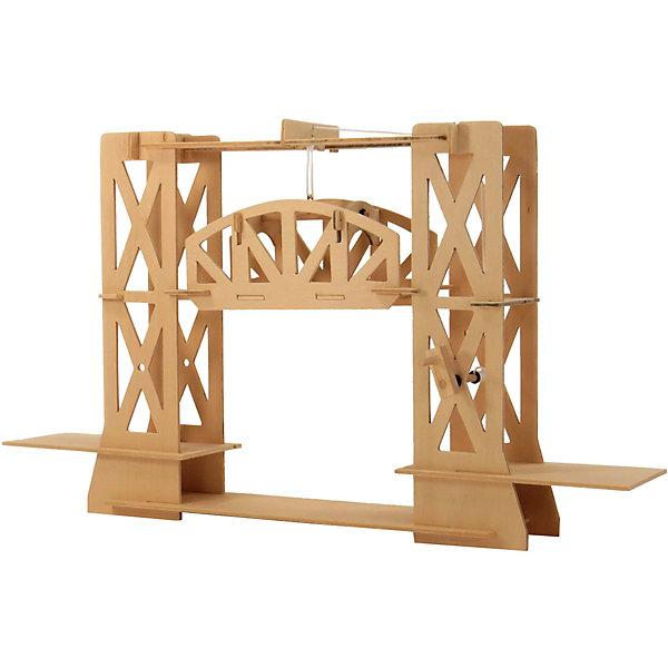 Мост подъемный модель D-012Деревянные модели<br>Характеристики товара:<br><br>• возраст: от 7 лет;  <br>• комплект: 24 деревянных деталей, 1 болт с петлей, 3 штифта, веревки, 6 резиновых колец, наждачная бумага, клей, инструкция по сборке;<br>• материал: дерево;<br>• страна обладатель бренда: Россия.<br><br>Это не стандартный пластмассовый конструктор, это редкая возможность своими руками воссоздать близкую к реальной модель моста. Пусть ваш ребенок почувствует себя настоящим архитектором.<br><br>При сборке модели задействованы логическое и пространственное мышление.<br><br>Мост подьемный можно купить в нашем интернет-магазине.<br><br>Ширина мм: 9999<br>Глубина мм: 9999<br>Высота мм: 9999<br>Вес г: 9999<br>Возраст от месяцев: 84<br>Возраст до месяцев: 144<br>Пол: Унисекс<br>Возраст: Детский<br>SKU: 7276727