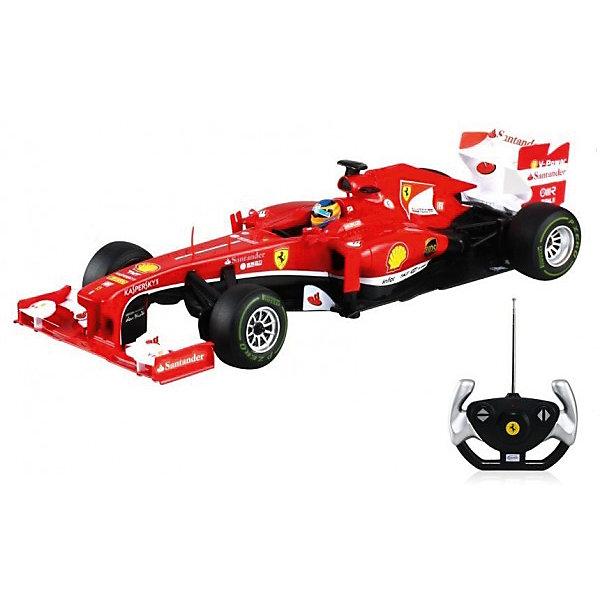 Радиоуправляемая машинка Rastar Ferrari F1, 1:12Радиоуправляемые машины<br>Характеристики товара:<br><br>• возраст: от 8 лет;<br>• материал: пластик, металл;<br>• в комплекте: машина, пульт;<br>• тип батареек: 5 батареек АА, 1 крона 9V;<br>• наличие батареек: не входят в комплект;<br>• дальность действия пульта: 15 метров;<br>• время игры: 25 минут;<br>• время зарядки: 4-5 часов;<br>• размер машины: 41,7х15х9,7 см;<br>• масштаб: 1:12;<br>• размер упаковки: 47,5х22,5х17 см;<br>• вес упаковки: 1,08 кг;<br>• страна производитель: Китай.<br><br>Радиоуправляемая машина Rastar Ferrari F1 представляет собой копию настоящего гоночного автомобиля. Машина умеет ездить вперед и назад, поворачивать. Она развивает скорость до 12 км/час. Подойдет для игр как в помещении, так и на улице.<br><br>Радиоуправляемую машину Rastar Ferrari F1 можно приобрести в нашем интернет-магазине.<br><br>Ширина мм: 475<br>Глубина мм: 225<br>Высота мм: 170<br>Вес г: 1008<br>Возраст от месяцев: 36<br>Возраст до месяцев: 180<br>Пол: Мужской<br>Возраст: Детский<br>SKU: 7297270
