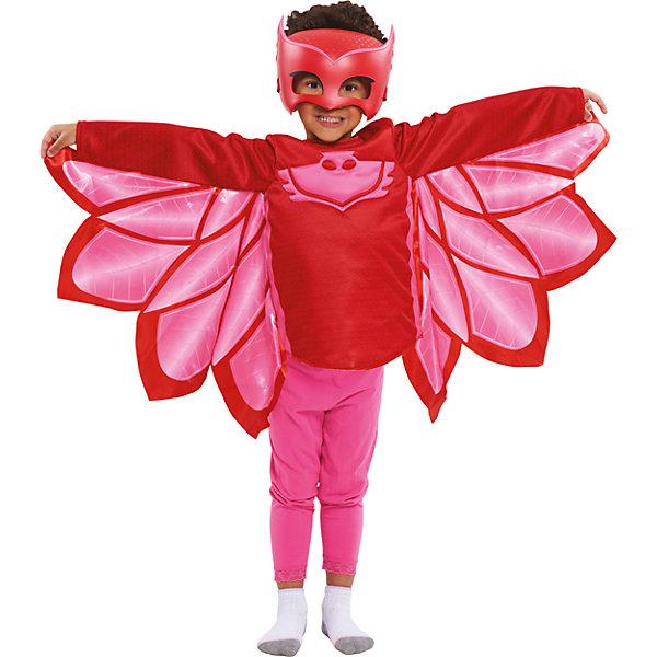 Карнавальный костюм Росмен Герои в масках, Аллет (кофта и маска)Карнавальные костюмы для девочек<br>Характеристики товара:<br><br>• цвет: красный;<br>• состав: кофта: 100% полиэстер, маска: пластик;<br>• в комплекте два предмета: кофта и маска;<br>• кофта с изображением амулета героя;<br>• маска на мягкой эластичной резинке;<br>• размер маски: 19х15 см;<br>• кофта на рост 116-121 см;<br>• длина рукава: 42 см;<br>• длина по спинке: 35 см;<br>• упаковка: блистер;<br>• страна бренда: Россия;<br>• страна изготовитель: Россия.<br><br>Карнавальный костюм в виде любимого героя Аллет из мультфильма Герои в масках. Костюм состоит из кофты и маски, кофта выполнена полностью из полиэстера, маска пластиковая. Допускается стирка кофты при температуре не выше 30С. <br><br>Карнавальный костюм Росмен Герои в масках, Аллет можно купить в нашем интернет-магазине.<br>Ширина мм: 253; Глубина мм: 115; Высота мм: 310; Вес г: 410; Возраст от месяцев: 36; Возраст до месяцев: 2147483647; Пол: Женский; Возраст: Детский; SKU: 7298354;