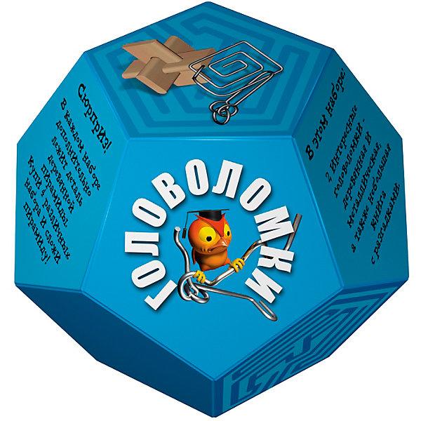 Головоломка Додекаэдр ГолубойКлассические головоломки<br>Характеристики товара:<br><br>• возраст: от 3 лет;<br>• цвет: голубой;<br>• в комплекте: книга-инструкция 16 страниц с цветными иллюстрациями, 1 металлическая и 1 деревянная головоломки + деталь от пирамиды;<br>• размер упаковки: 14х14х11 см.;<br>• вес: 0,2 кг.;<br>• издательство: Новый формат .<br><br>В этом наборе две интересные головоломки- деревянная и металлическая, а также небольшая книга с разгадками. Сюрприз! В каждом наборе дополнительно лежит деталь деревянной пирамиды. Купи 4 различных набора и собери пирамиду!<br><br>Головоломку «Додекаэдр» Голубой можно купить в нашем интернет-магазине.<br><br>Ширина мм: 140<br>Глубина мм: 140<br>Высота мм: 110<br>Вес г: 200<br>Возраст от месяцев: 36<br>Возраст до месяцев: 2147483647<br>Пол: Унисекс<br>Возраст: Детский<br>SKU: 7300412