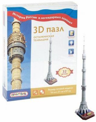 Maestro 3D пазл Останкинская телебашня