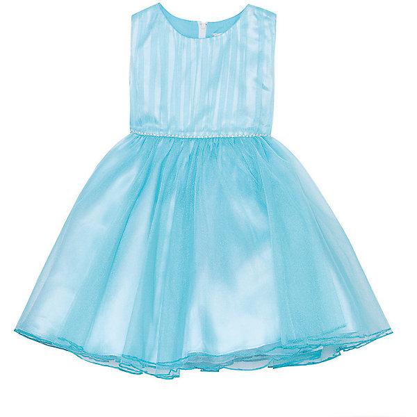 Нарядное платье Vitacci для девочкиОдежда<br>Характеристики товара:<br><br>• цвет: голубой;<br>• состав: 100% полиэстер;<br>• подкладка: 100% хлопок;<br>• сезон: круглый год;<br>• особенности: нарядное, на подкладке;<br>• застежка: молния на спинке;<br>• декорировано бусинами под жемчуг;<br>• без рукавов;<br>• пышная юбка;<br>• страна бренда: Италия;<br>• страна изготовитель: Китай.<br><br>Нарядное платье без рукавов для девочки. Застегивается на молнию сзади. На талии платье украшено бусинами под жемчуг, вместо пояса. Платье с пышной юбкой.<br><br>Нарядное платье Vitacci (Витачи) можно купить в нашем интернет-магазине.<br>Ширина мм: 236; Глубина мм: 16; Высота мм: 184; Вес г: 177; Цвет: голубой; Возраст от месяцев: 12; Возраст до месяцев: 15; Пол: Женский; Возраст: Детский; Размер: 86,92,98,104,110; SKU: 7300991;