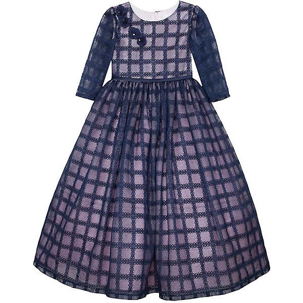 Нарядное платье Vitacci для девочкиОдежда<br>Характеристики товара:<br><br>• цвет: синий;<br>• состав: 100% полиэстер;<br>• подкладка: 100% хлопок;<br>• сезон: круглый год;<br>• особенности: нарядное, на подкладке;<br>• застежка: молния на спинке;<br>• с пояском;<br>• с длинным рукавом;<br>• декорировано цветами;<br>• страна бренда: Италия;<br>• страна изготовитель: Китай.<br><br>Нарядное платье с длинным рукавом для девочки. Застегивается на молнию сзади. Платье декорировано  пояском синего цвета и украшено синими цветочками у горловины.<br><br>Нарядное платье Vitacci (Витачи) можно купить в нашем интернет-магазине.<br><br>Ширина мм: 236<br>Глубина мм: 16<br>Высота мм: 184<br>Вес г: 177<br>Цвет: синий<br>Возраст от месяцев: 96<br>Возраст до месяцев: 108<br>Пол: Женский<br>Возраст: Детский<br>Размер: 120,110,100,90,130<br>SKU: 7301009
