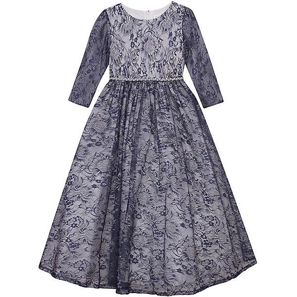 Нарядное платье Vitacci для девочкиОдежда<br>Характеристики товара:<br><br>• цвет: синий;<br>• состав: 100% полиэстер;<br>• подкладка: 100% хлопок;<br>• сезон: круглый год;<br>• особенности: нарядное, на подкладке, с рисунком;<br>• застежка: молния на спинке;<br>• с пояском;<br>• с длинным рукавом;<br>• страна бренда: Италия;<br>• страна изготовитель: Китай.<br><br>Нарядное платье с длинным рукавом для девочки. Платье с рисунком в виде цветов застегивается на молнию сзади. Рукава платья без подкладки.<br><br>Нарядное платье Vitacci (Витачи) можно купить в нашем интернет-магазине.<br>Ширина мм: 236; Глубина мм: 16; Высота мм: 184; Вес г: 177; Цвет: синий; Возраст от месяцев: 96; Возраст до месяцев: 108; Пол: Женский; Возраст: Детский; Размер: 120,110,100,90,130; SKU: 7301021;