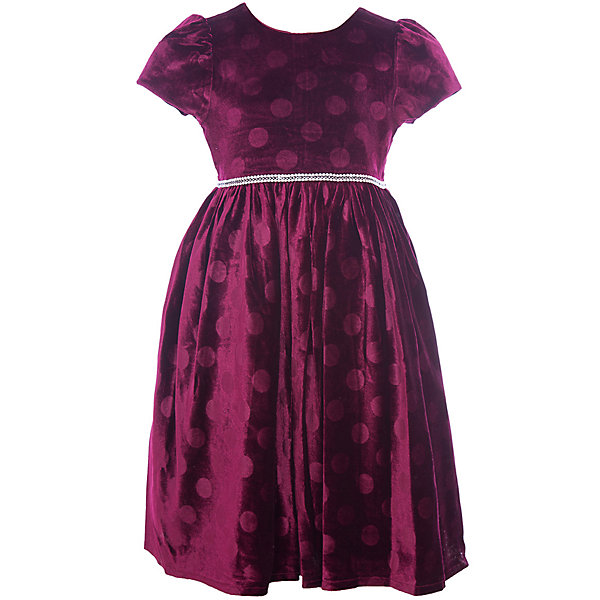 Нарядное платье Vitacci для девочкиОдежда<br>Характеристики товара:<br><br>• цвет: красный;<br>• состав: 100% полиэстер;<br>• подкладка: 100% хлопок;<br>• сезон: круглый год;<br>• особенности: нарядное, на подкладке, в горох;<br>• застежка: молния на спинке;<br>• поясок;<br>• с коротким рукавом;<br>• страна бренда: Италия;<br>• страна изготовитель: Китай.<br><br>Нарядное платье с коротким рукавом для девочки. Бархатное платье застегивается сзади на молнию. Платье с пояском в виде бусин-жемчужин, дополнено рисунком в крупый горох..<br><br>Нарядное платье Vitacci (Витачи) можно купить в нашем интернет-магазине.<br><br>Ширина мм: 236<br>Глубина мм: 16<br>Высота мм: 184<br>Вес г: 177<br>Цвет: бордовый<br>Возраст от месяцев: 12<br>Возраст до месяцев: 15<br>Пол: Женский<br>Возраст: Детский<br>Размер: 86,110,104,98,92<br>SKU: 7301063