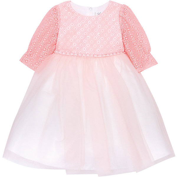 Нарядное платье Vitacci для девочкиОдежда<br>Характеристики товара:<br><br>• цвет: розовый;<br>• состав: 100% полиэстер;<br>• подкладка: 100% хлопок;<br>• сезон: круглый год;<br>• особенности: нарядное, на подкладке;<br>• застежка: молния на спинке;<br>• поясок;<br>• с длинным рукавом;<br>• страна бренда: Италия;<br>• страна изготовитель: Китай.<br><br>Нарядное платье с длинным рукавом для девочки. Пышное платье застегивается сзади на молнию. Платье с пояском в виде бусин-жемчужин, дополнено несколькими бусинами спереди на грудке. Рукава платья без подкладки.<br><br>Нарядное платье Vitacci (Витачи) можно купить в нашем интернет-магазине.<br>Ширина мм: 236; Глубина мм: 16; Высота мм: 184; Вес г: 177; Цвет: розовый; Возраст от месяцев: 48; Возраст до месяцев: 60; Пол: Женский; Возраст: Детский; Размер: 104,92,86,98,110; SKU: 7301069;