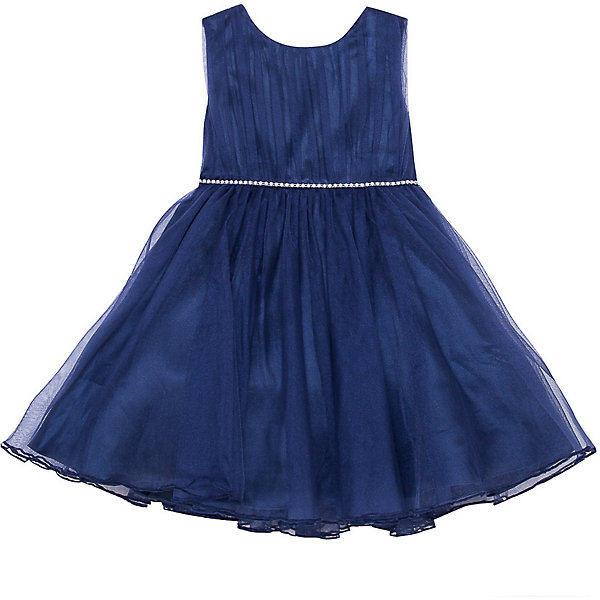 Нарядное платье Vitacci для девочкиОдежда<br>Характеристики товара:<br><br>• цвет: бежевый;<br>• состав: 100% полиэстер;<br>• подкладка: 100% хлопок;<br>• сезон: круглый год;<br>• особенности: нарядное, на подкладке;<br>• застежка: молния на спинке;<br>• пышная юбка;<br>• без рукавов;<br>• поясок из страз;<br>• страна бренда: Италия;<br>• страна изготовитель: Китай.<br><br>Нарядное платье без рукавов для девочки. Пышное платье застегивается сзади на молнию. Платье с пышной юбкой дополнено пояском из страз.<br><br>Нарядное платье Vitacci (Витачи) можно купить в нашем интернет-магазине.<br>Ширина мм: 236; Глубина мм: 16; Высота мм: 184; Вес г: 177; Цвет: синий; Возраст от месяцев: 12; Возраст до месяцев: 15; Пол: Женский; Возраст: Детский; Размер: 110,104,98,92,86; SKU: 7301099;