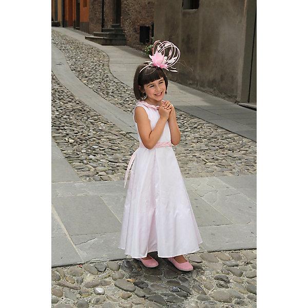 Платье нарядное Unona Dart для девочкиОдежда<br>Характеристики товара:<br><br>• цвет: розовый;<br>• состав: 100% полиэстер;<br>• подкладка: 65% полиэстер, 35% хлопок;<br>• сезон: круглый год;<br>• особенности: нарядное, на подкладке;<br>• застежка: молния на спинке;<br>• поясок-лента;<br>• без рукавов;<br>• страна бренда: Россия;<br>• страна изготовитель: Россия.<br><br>Нарядное платье без рукавов для девочки. Нарядное платье для элегантной принцессы нежного розового цвета. А- образный силуэт, лиф украшен объемной тесьмой, юбка до середины голени. Пояс регулирует степень прилегания.<br><br>Нарядное платье Unona Dart (Юнона де Арт) можно купить в нашем интернет-магазине.<br><br>Ширина мм: 236<br>Глубина мм: 16<br>Высота мм: 184<br>Вес г: 177<br>Цвет: розовый<br>Возраст от месяцев: 72<br>Возраст до месяцев: 84<br>Пол: Женский<br>Возраст: Детский<br>Размер: 134,128,122<br>SKU: 7309128