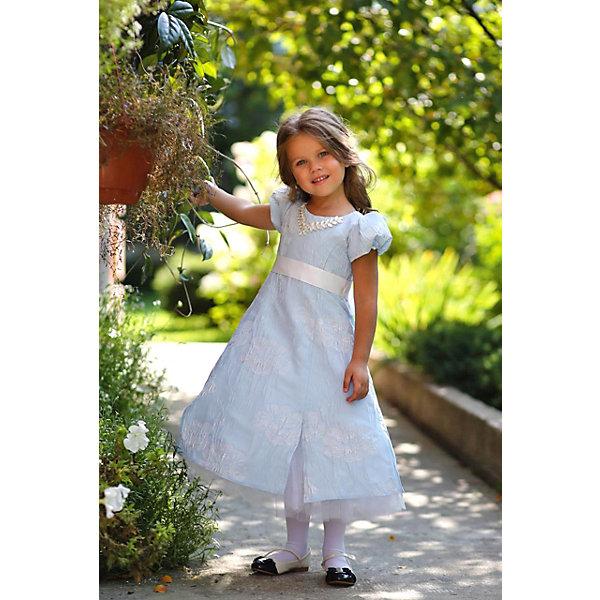 Платье нарядное Unona Dart для девочкиОдежда<br>Характеристики товара:<br><br>• цвет: розовый;<br>• состав: 100% полиэстер;<br>• подкладка: 65% полиэстер, 35% хлопок;<br>• сезон: круглый год;<br>• особенности: нарядное, на подкладке;<br>• застежка: молния на спинке;<br>• поясок-лента;<br>• с коротким рукавом;<br>• страна бренда: Россия;<br>• страна изготовитель: Россия.<br><br>Нарядное платье с коротким рукавом для девочки. Приталенное, но пышное внизу. Основная ткань - нежный жаккард, декор - украшение из качественного стекла. Пояс завязывается сзади.<br><br>Нарядное платье Unona Dart (Юнона де Арт) можно купить в нашем интернет-магазине.<br>Ширина мм: 236; Глубина мм: 16; Высота мм: 184; Вес г: 177; Цвет: голубой; Возраст от месяцев: 84; Возраст до месяцев: 96; Пол: Женский; Возраст: Детский; Размер: 128,110,116,122; SKU: 7309157;