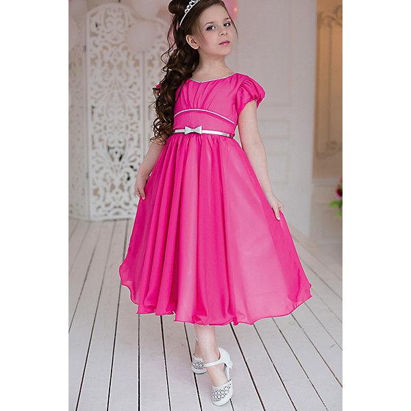 Платье нарядное Barbie™ для девочкиОдежда<br>Характеристики товара:<br><br>• цвет: розовый;<br>• состав: 100% полиэстер;<br>• подкладка: 65% полиэстер, 35% хлопок;<br>• сезон: круглый год;<br>• особенности: нарядное, на подкладке;<br>• застежка: молния;<br>• ремешок;<br>• страна бренда: Италия;<br>• страна изготовитель: Китай.<br><br>Нарядное платье для девочки. Бальное платье в стиле Barbie™princess из шифона. Легая, летящая юбка-солнце, изысканный вырез горловины, оформленный серебряным кантом.<br>Крупная аппликация Barbie из страз высокого качества на юбке. Серебристый ремень входит в комплект.<br><br>Нарядное платье Barbie (Барби) можно купить в нашем интернет-магазине.<br><br>Ширина мм: 236<br>Глубина мм: 16<br>Высота мм: 184<br>Вес г: 177<br>Цвет: розовый<br>Возраст от месяцев: 48<br>Возраст до месяцев: 60<br>Пол: Женский<br>Возраст: Детский<br>Размер: 110,104,98,128,122,116<br>SKU: 7309327