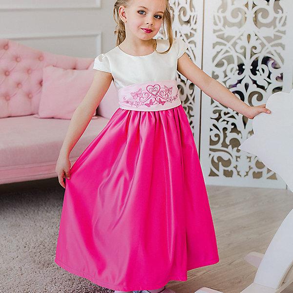 Платье нарядное Barbie™ для девочкиОдежда<br>Характеристики товара:<br><br>• цвет: розовый;<br>• состав: 100% полиэстер;<br>• подкладка: 65% полиэстер, 35% хлопок;<br>• сезон: круглый год;<br>• особенности: нарядное, на подкладке;<br>• страна бренда: США;<br>• страна бренда: Россия;<br><br>Нарядное платье для девочки. Бальное платье в стиле Barbie™princess длиной до щиколотки. Выполнено из специальной ткани, позволяющей держать мягкие формы. Длинная тяжелая юбка, широкий пояс с красивой вышивкой - атрибуты настоящего бального платья. Вышивка Barbie на поясе  <br><br>Нарядное платье Barbie (Барби) можно купить в нашем интернет-магазине.<br>Ширина мм: 236; Глубина мм: 16; Высота мм: 184; Вес г: 177; Цвет: розовый; Возраст от месяцев: 84; Возраст до месяцев: 96; Пол: Женский; Возраст: Детский; Размер: 128,98,104,110,116,122; SKU: 7309418;