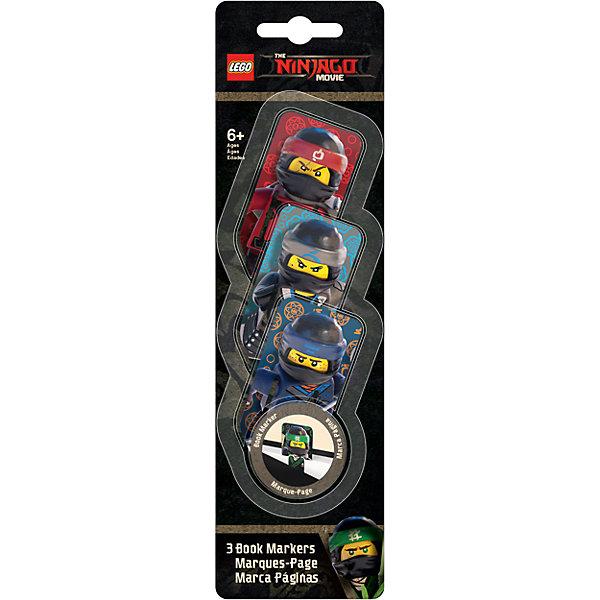 Набор закладок для книг (3 шт.) с лентикулярным изображением в формате 3D LEGO Ninjago MovieЗакладки<br>Характеристики:<br><br>• тип изображения: лентикулярное;<br>• изображение в формате 3D;<br>• серия: Ninjago Movie;<br>• персонажи: Kai/Nya/Jay;<br>• количество в наборе: 3 шт.;<br>• размер упаковки: 24,7х7х0,4 см;<br>• вес: 22 г.<br><br>Закладки для книг используются школьниками и любителями чтения, чтобы в любой момент открыть книгу в том месте, где было окончено чтение в предыдущий раз. Закладки для книг оформлены в стиле Лего, на закладках представлены изображения героев из фильма Ниндзяго.<br><br>Набор закладок для книг (3 шт.) с лентикулярным изображением в формате 3D LEGO Ninjago Movie  (Лего Фильм: Ниндзяго) Kai/Nya/Jay можно купить в нашем интернет-магазине.<br><br>Ширина мм: 70<br>Глубина мм: 4<br>Высота мм: 247<br>Вес г: 22<br>Возраст от месяцев: 72<br>Возраст до месяцев: 2147483647<br>Пол: Мужской<br>Возраст: Детский<br>SKU: 7310769