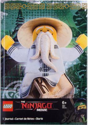 нига дл¤ записей (96 листов, линейка) с резинкой LEGO Ninjago Movie (Ћего 'ильм: Ќиндз¤го)-Sensei Wu