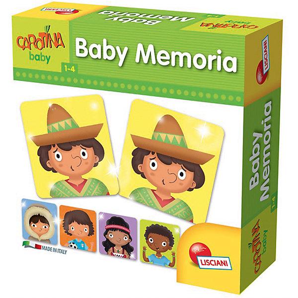 Игра настольная Бэбимэмо, LiscianiИгры мемо<br>Характеристики:<br><br>• игра мемо для малышей;<br>• правила игры: запомнить парные карточки и их расположение;<br>• цель игры: развитие логического мышления и памяти ребенка;<br>• возраст: от 12 месяцев до 4 лет;<br>• состав набора: 32 карты (16 пар);<br>• материал: картон;<br>• размер упаковки: 19х6х19 см;<br>• вес: 350 г.<br><br>Настольная игра Бэбимэмо представляет собой стандартную игру мемо. Для малышей предусмотрены карточки из более плотного картона. В процессе игры развивается память и внимание, ребенок запоминает и называет расположение карточек и находит парные значения. <br><br>Продукт разработан в Италии, в Центре Исследований и Разработки Lisciani.<br><br>Игру настольную «Бэбимэмо», Lisciani можно купить в нашем интернет-магазине.<br>Ширина мм: 188; Глубина мм: 60; Высота мм: 188; Вес г: 350; Возраст от месяцев: 12; Возраст до месяцев: 2147483647; Пол: Унисекс; Возраст: Детский; SKU: 7311161;