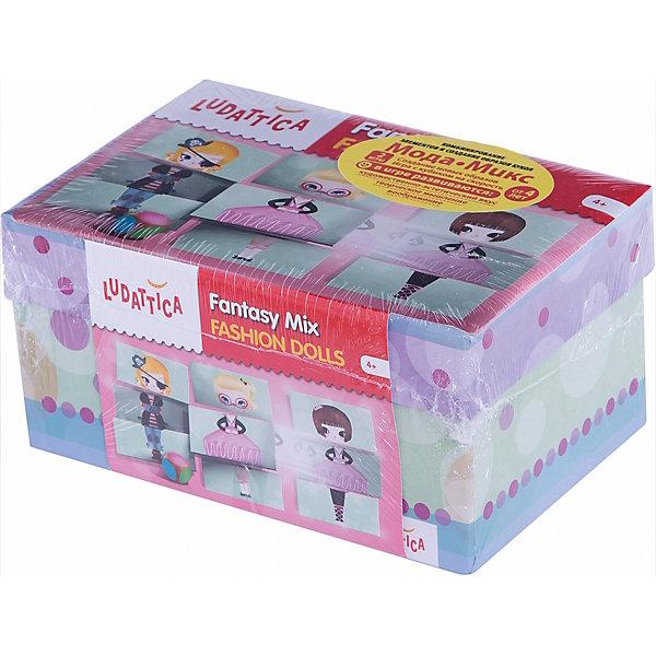 Игра настольная МОДА-МИКС, LudatticaНастольные игры для всей семьи<br>Характеристики:<br><br>• возможность стать модельером;<br>• создание различных образов кукол;<br>• 2 варианта игры;<br>• иллюстратор Эдоли Дэй (Adolie Day);<br>• возраст ребенка: от 4 лет;<br>• комплектация набора: 16 фигурок кукол, составленных из 3-х частей, цветной игральный кубик, правила игры;<br>• размер упаковки: 20,5х13,5х10 см;<br>• вес: 450 г.<br><br>Набор «Мода-микс» для настоящих модниц, модельеров и дизайнеров. Возможность проявить творческие способности, одеть куколок и устроить показ мод. В процессе игры развивается фантазия, стимулируется логика, любопытство и наблюдательность.<br><br>Продукт разработан в Италии, в Центре Исследований и Разработки Lisciani.  <br><br>Игру настольную «Мода-микс», Ludattica можно купить в нашем интернет-магазине.<br>Ширина мм: 205; Глубина мм: 100; Высота мм: 135; Вес г: 450; Возраст от месяцев: 48; Возраст до месяцев: 2147483647; Пол: Унисекс; Возраст: Детский; SKU: 7311163;