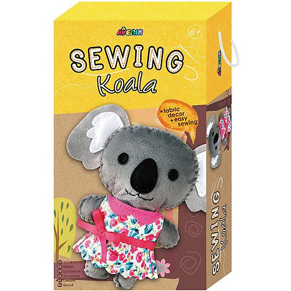 Набор для шитья КоалаШитьё<br>Характеристики товара:<br><br>• возраст: от 3 лет;<br>• пол: девочка;<br>В комплекте:<br>• заготовки из ткани;<br>• заготовки из войлока; <br>• материал для набивки игрушки;<br>• безопасная пластиковая игла;<br>• цветная пряжа;<br>• из чего сделана игрушка (состав): текстиль, пластик; <br>• вес: 0,13 кг.;<br>• размер упаковки: 23х13х5 см.;<br>• упаковка: картонная коробка.<br><br>Набор для шитья игрушки Коала понравится многим девочкам. Ребенку предлагается попробовать самостоятельно сшить для себя игрушку.  <br><br>В данном наборе имеются все необходимые материалы и атрибуты, которые составят очаровательного зверька. Такой необычный процесс подарит девочке возможность научиться работать с иглами и нитками.<br><br>Набор для шитья «Коала» можно купить в нашем интернет-магазине.<br><br>Ширина мм: 230<br>Глубина мм: 130<br>Высота мм: 50<br>Вес г: 130<br>Возраст от месяцев: 36<br>Возраст до месяцев: 2147483647<br>Пол: Женский<br>Возраст: Детский<br>SKU: 7313463