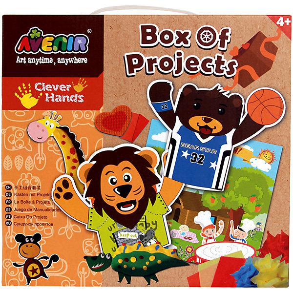 Набор для аппликаций ЖивотныеБумага<br>Характеристики товара:<br><br>• возраст: от 3 лет;<br>• пол: мальчик, девочка;<br>В комплекте:<br>• 100 листов бумаги;<br>• 6 проволочек; <br>• 1 лист бумаги с пейзажем;<br>• 1 лист с наклейками;<br>• 2 бумажных пакетика;<br>• 3 цветных листа;<br>• клей-карандаш;<br>• 6 кусочков пластилина;<br>• 2 стикера;<br>• 1 цветная карта;<br>• инструкция;<br>• из чего сделана игрушка (состав): бумага, пластилин, картон; <br>• вес: 40 гр.;<br>• размер упаковки: 26х27х6 см.;<br>• упаковка: картонная коробка.<br><br>Набор для аппликаций «Животные» включает в себя все, что может потребоваться ребенку для творчества. С помощью картона, пластилина, бумаги и клея, входящих в набор, ребенок смастерит озорных зверюшек своими руками и почувствует себя настоящим художником.<br><br>Создание аппликаций положительно влияет на всестороннее развитие малыша, прививает множество полезных качеств, таких как усидчивость, творческое мышление, эстетическое восприятие. Тренирует мелкую моторику, зрение.<br><br>Набор для аппликаций «Животные» можно купить в нашем интернет-магазине.<br><br>Ширина мм: 260<br>Глубина мм: 270<br>Высота мм: 60<br>Вес г: 40<br>Возраст от месяцев: 36<br>Возраст до месяцев: 2147483647<br>Пол: Унисекс<br>Возраст: Детский<br>SKU: 7313468