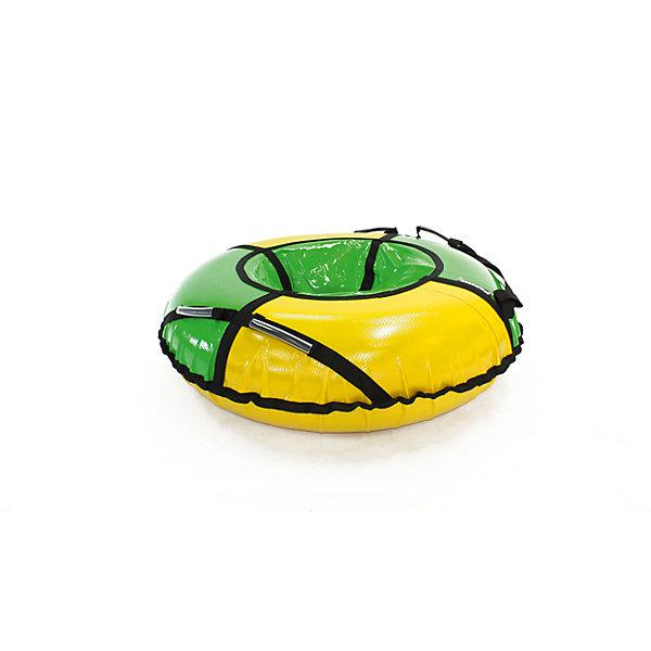 Тюбинг Hubster Sport Plus желто-зеленый, 105 см