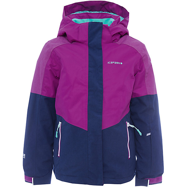 Куртка ICEPEAK для девочкиВерхняя одежда<br>Характеристики товара:  <br><br>• цвет:фуксия, лиловый; <br>• пол: женский; <br>• состав: 100% полиэстер, полиуретановое покрытие; <br>• подкладка: 100% полиэстер; <br>• утеплитель: 140 г/м2; <br>• мембрана: 10 000/5000; <br>• сезон: зима; <br>• температурный режим: от 0 до -25С; <br>• застежка: молния с дополнительной защитной планкой; <br>• водоотталкивающий, ветронепроницаемый и дышащий материал; <br>• гладкая подкладка из полиэстера; <br>• безопасный съемный капюшон;  <br>• рукав регулируется липучкой;  <br>•  теплый карман на флисе и на молнии; <br>• теплый и мягкий флисовый воротник; <br>• снегозащитная юбка со стянутой по краю плоской резиновой тесьмой с нескользящей поверхностью; <br>• светоотражающие детали; <br>• страна бренда: Финляндия; <br>• страна изготовитель: Китай.  <br><br>Зимняя куртка ICEPEAK выполнена из специального высококачественного материала, подойдет как для катания на горных лыжах, так и для любых зимних активностей и прогулок. Не пропускает влагу и ветер. Яркая и стильная.   <br><br>Куртку ICEPEAK для девочки можно купить в нашем интернет-магазине.<br>Ширина мм: 356; Глубина мм: 10; Высота мм: 245; Вес г: 519; Цвет: лиловый; Возраст от месяцев: 84; Возраст до месяцев: 96; Пол: Женский; Возраст: Детский; Размер: 128,176,164,152,140; SKU: 7314704;