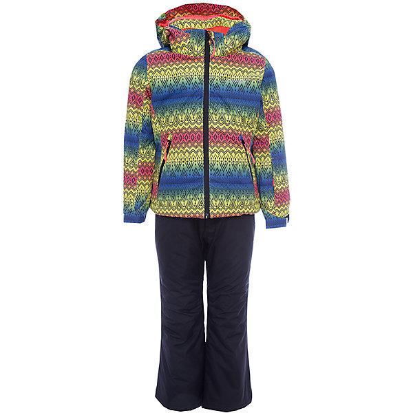 Комплект (куртка+брюки) ICEPEAK для девочкиВерхняя одежда<br>Характеристики товара:  <br><br>• цвет: зеленый, голубой, оранжевый;  <br>• комплектация: куртка и брюки;  <br>• состав ткани: 100% полиэстер; <br>• подкладка: 100% полиэстер; <br>• утеплитель: 100% полиэстер; <br>• сезон: зима; <br>• температурный режим: от 0 до -25С; <br>• страна бренда: Финляндия; <br>• страна изготовитель: Китай.  <br><br>Куртка: • плотность утеплителя: тело 160; рукава: 140 г/м2; • застежка: молния с дополнительной защитной планкой; • водоотталкивающий, ветронепроницаемый и дышащий материал; • гладкая подкладка из полиэстера; • безопасный съемный капюшон;  • рукав регулируется липучкой;  •  теплый карман на флисе и на молнии; • теплый и мягкий флисовый воротник; • снегозащитная юбка со стянутой по краю плоской резиновой тесьмой с нескользящей поверхностью; • светоотражающие детали;  <br><br>Брюки: •  на отстегивающихся лямках,  • завышенная талия на спине для комфорта,  •эластичный пояс, внутренние манжеты с резинкой для защиты от снега,  • сформированное колено,  • светоотражающие элементы,  • плотность утеплителя: 100 гр.  <br><br>Яркий зимний комплект Icepeak (Финляндия) состоит из куртки и брюк на лямках. Удобный теплый комплект для ребенка позволит наслаждаться зимой, не боясь замерзнуть.  <br><br>Комплект (куртка+брюки) ICEPEAK для девочки можно купить в нашем интернет-магазине.<br>Ширина мм: 356; Глубина мм: 10; Высота мм: 245; Вес г: 519; Цвет: зеленый; Возраст от месяцев: 60; Возраст до месяцев: 72; Пол: Женский; Возраст: Детский; Размер: 116,176,164,152,140,128; SKU: 7314722;