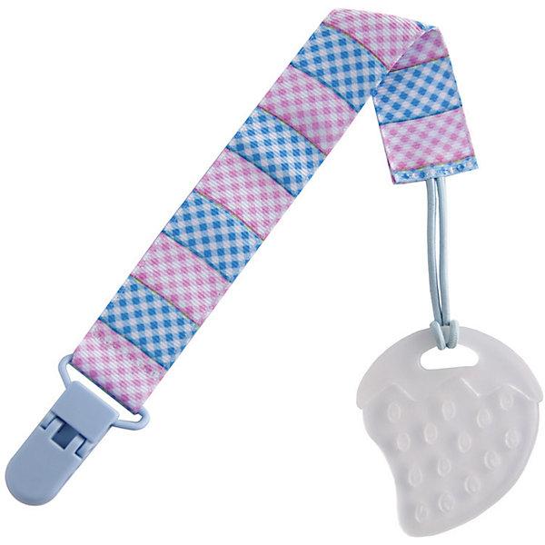Прорезыватель на держателе Roxy-kids Клетка, голубой/розовыйПрорезыватели для зубов<br>Характеристики:<br><br>• палочка-выручалочка на этапе прорезывания зубов;<br>• прорезыватель на держателе;<br>• надежно крепится к одежде;<br>• возможность отсоединить прорезыватель от держателя;<br>• рельефная поверхность прорезывателя;<br>• массажный эффект;<br>• возможность охладить грызунок Roxy-kids;<br>• материал: полипропилен, текстиль, пластик;<br>• не содержит бисфенол-А;<br>• размер упаковки: 11х21х1 см;<br>• вес: 50 г.<br><br>Многофункциональный аксессуар для малышей представляет собой прорезыватель на держателе. Малыш отвлекается от ноющей боли воспаленных десен, когда режутся зубки. Рельефная поверхность прорезывателя массирует десны, охлаждение позволяет «заморозить» десны. Держатель съемный, может использоваться также с пустышкой или ниблером. <br><br>Прорезыватель на держателе Roxy-kids Клетка, голубой/розовый можно купить в нашем интернет-магазине.<br>Ширина мм: 110; Глубина мм: 210; Высота мм: 10; Вес г: 50; Возраст от месяцев: 0; Возраст до месяцев: 24; Пол: Унисекс; Возраст: Детский; SKU: 7315612;