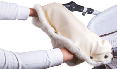 Roxy-Kids Муфта для рук Roxy-kids с натуральным мехом, кремовый