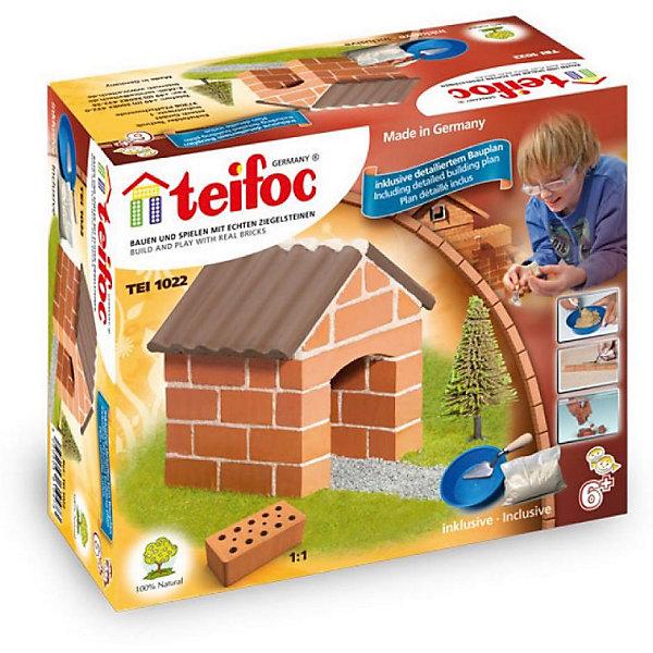 Конструктор из кирпичиков Teifoc Коттедж, 75 деталейКонструкторы из кирпичиков<br>Характеристики товара:<br><br>• в комплекте: кирпичи, пластиковые элементы, чаша, мастерок, строительная смесь;<br>• возраст: от 6 лет;<br>• материал: глина, пластик;<br>• размер упаковки: 14,5х8х8 см;<br>• страна бренда: Германия.<br><br>Уникальный конструктор от Teifoc подарит детям и взрослым удивительную возможность построить уменьшенную копию настоящего дома. При этом такое строительство абсолютно безопасно: кирпичи изготовлены из обожженной глины, а «цемент» из кукурузного крахмала и речного песка. В комплект входят материалы для приготовления строительной смеси, чаша и небольшой мастерок. Для того, чтобы разобрать постройку, нужно оставить ее в воде на 3-4 часа. После этого цемент растворится и дом можно построить заново. Игра с конструктором поможет развить пространственное мышление, мелкую моторику, воображение, аккуратность и навыки строительства.<br><br>Строительный набор «Коттедж», Teifoc (Тейфок) можно купить в нашем интернет-магазине.<br>Ширина мм: 180; Глубина мм: 80; Высота мм: 150; Вес г: 790; Возраст от месяцев: 72; Возраст до месяцев: 2147483647; Пол: Унисекс; Возраст: Детский; SKU: 7315630;