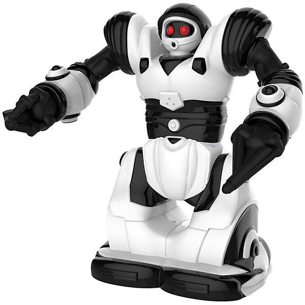 Радиоуправляемый мини-робот Wowwee РобосапиенРоботы-игрушки<br>Характеристики товара:<br><br>• в комплекте: робот, пульт;<br>• высота робота: 18 см;<br>• возраст: от 7 лет;<br>• батарейки: ААА - 3 шт. (не входят в комплект);<br>• материал: пластик, металл;<br>• размер упаковки: 20х9х18 см;<br>• страна: Китай.<br><br>Робосапиен - интерактивная игрушка, которая, несомненно, придется по вкусу и детям, и взрослым. Роботом можно управлять с помощью пульта. Робосапиен умеет двигаться вперед-назад, вправо-влево, поворачивать туловище, наклоняться в стороны, махать руками и обходить препятствия. Во время работы глаза робота светятся красивыми огоньками. При полной зарядке время работы робота составляет около 1,5 часов. Для работы необходимы 3 батарейки ААА (не входят в комплект).<br><br>Мини робота «Робосапиен» р/у, WowWee (ВовВи) можно купить в нашем интернет-магазине.<br>Ширина мм: 180; Глубина мм: 90; Высота мм: 200; Вес г: 360; Возраст от месяцев: 48; Возраст до месяцев: 2147483647; Пол: Унисекс; Возраст: Детский; SKU: 7315635;