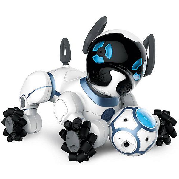 Интерактивная игрушка Wowwee Робот-собачка ЧипИнтерактивные животные<br>Робот Собачка CHIP<br><br>Ширина мм: 380<br>Глубина мм: 220<br>Высота мм: 280<br>Вес г: 2900<br>Возраст от месяцев: 96<br>Возраст до месяцев: 2147483647<br>Пол: Унисекс<br>Возраст: Детский<br>SKU: 7315727