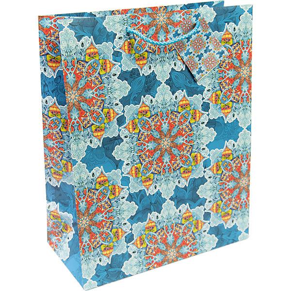 Бумажный пакет Яркий калейдоскоп для сувенирной продукции , с ламинациейНовогодние пакеты<br>Характеристики:<br><br>• размер пакета: 48,9х40,6х19 см;<br>• ширина основания: 40,6 см;<br>• плотность бумаги: 157 г/м2;<br>• масса: 186 г.<br><br>Красивый ламинированный пакет понадобится для упаковки подарков и сувениров. Пакет удобного размера, поэтому может вместить достаточно большой презент.<br><br>Тематическая новогодняя иллюстрация на пакете подойдет и для взрослых, и для детей. Две прочные ручки надежно закреплены. Плотная бумага хорошо держит форму.<br><br>Подарочный пакет необходим для хорошего оформления подарков друзьям и родным.<br><br>Бумажный пакет «Яркий калейдоскоп» для сувенирной продукции, с ламинацией, Magic Time можно купить в нашем интернет-магазине.<br>Ширина мм: 490; Глубина мм: 406; Высота мм: 1; Вес г: 186; Возраст от месяцев: 36; Возраст до месяцев: 2147483647; Пол: Унисекс; Возраст: Детский; SKU: 7317192;