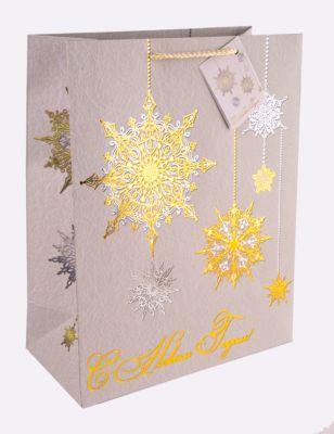 Magic Time Бумажный Пакет Золото И Серебро Для Сувенирной Продукции, С Ламинацией