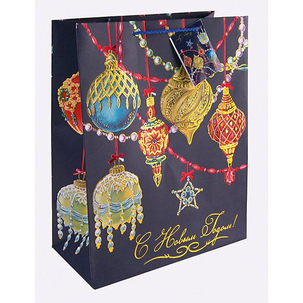 Бумажный пакет Яркие игрушки для сувенирной продукции, с ламинациейНовогодние пакеты<br>Характеристики:<br><br>• размер пакета: 22,9х17,8х9,8 см;<br>• ширина основания: 17,8 см;<br>• плотность бумаги: 250 г/м2;<br>• масса: 56 г.<br><br>Красивый ламинированный пакет понадобится для упаковки подарков и сувениров. Пакет удобного размера, он может вместить маленький презент.<br><br>Тематическая новогодняя иллюстрация на пакете подойдет и для взрослых, и для детей. Две прочные ручки надежно закреплены. Очень плотная бумага хорошо держит форму.<br><br>Подарочный пакет необходим для хорошего оформления подарков друзьям и родным.<br><br>Бумажный пакет «Яркие игрушки» для сувенирной продукции, с ламинацией, Magic Time можно купить в нашем интернет-магазине.<br>Ширина мм: 230; Глубина мм: 178; Высота мм: 1; Вес г: 56; Возраст от месяцев: 36; Возраст до месяцев: 2147483647; Пол: Унисекс; Возраст: Детский; SKU: 7317195;