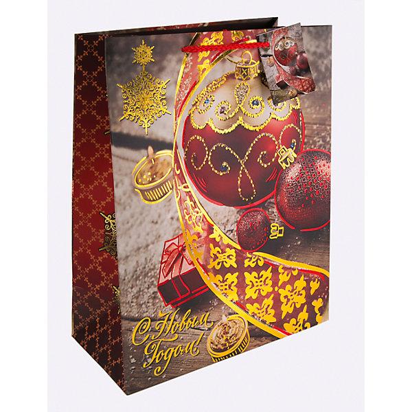 Бумажный пакет Красный новогодний шар для сувенирной продукции, с ламинациейУпаковка новогоднего подарка<br>Характеристики:<br><br>• размер пакета: 22,9х17,8х9,8 см;<br>• ширина основания: 17,8 см;<br>• плотность бумаги: 250 г/м2;<br>• масса: 56 г.<br><br>Красивый ламинированный пакет понадобится для упаковки подарков и сувениров. Пакет удобного размера, он может вместить маленький презент.<br><br>Тематическая новогодняя иллюстрация на пакете подойдет и для взрослых, и для детей. Две прочные ручки надежно закреплены. Очень плотная бумага хорошо держит форму.<br><br>Подарочный пакет необходим для хорошего оформления подарков друзьям и родным.<br><br>Бумажный пакет «Красный новогодний шар» для сувенирной продукции, с ламинацией, Magic Time можно купить в нашем интернет-магазине.<br><br>Ширина мм: 230<br>Глубина мм: 178<br>Высота мм: 1<br>Вес г: 56<br>Возраст от месяцев: 36<br>Возраст до месяцев: 2147483647<br>Пол: Унисекс<br>Возраст: Детский<br>SKU: 7317196