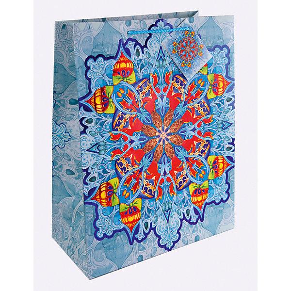 Бумажный пакет Яркий калейдоскоп для сувенирной продукции, с ламинациейУпаковка новогоднего подарка<br>Характеристики:<br><br>• размер пакета: 22,9х17,8х9,8 см;<br>• ширина основания: 17,8 см;<br>• плотность бумаги: 250 г/м2;<br>• масса: 56 г.<br><br>Красивый ламинированный пакет понадобится для упаковки подарков и сувениров. Пакет удобного размера, он может вместить маленький презент.<br><br>Тематическая новогодняя иллюстрация на пакете подойдет и для взрослых, и для детей. Две прочные ручки надежно закреплены. Очень плотная бумага хорошо держит форму.<br><br>Подарочный пакет необходим для хорошего оформления подарков друзьям и родным.<br><br>Бумажный пакет «Яркий калейдоскоп» для сувенирной продукции, с ламинацией, Magic Time можно купить в нашем интернет-магазине.<br><br>Ширина мм: 230<br>Глубина мм: 178<br>Высота мм: 1<br>Вес г: 56<br>Возраст от месяцев: 36<br>Возраст до месяцев: 2147483647<br>Пол: Унисекс<br>Возраст: Детский<br>SKU: 7317197