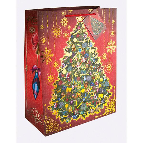 Бумажный пакет Новогодняя ночь для сувенирной продукции, с ламинациейУпаковка новогоднего подарка<br>Характеристики:<br><br>• размер пакета: 32,4х26х12,7 см;<br>• ширина основания: 26 см;<br>• плотность бумаги: 250 г/м2;<br>• масса: 107 г.<br><br>Красивый ламинированный пакет понадобится для упаковки подарков и сувениров. Пакет удобного размера, он может вместить презент среднего размера.<br><br>Тематическая новогодняя иллюстрация на пакете подойдет и для взрослых, и для детей. Две прочные ручки надежно закреплены. Очень плотная бумага хорошо держит форму.<br><br>Подарочный пакет необходим для хорошего оформления подарков друзьям и родным.<br><br>Бумажный пакет «Новогодняя ночь» для сувенирной продукции, с ламинацией, Magic Time можно купить в нашем интернет-магазине.<br>Ширина мм: 325; Глубина мм: 260; Высота мм: 1; Вес г: 107; Возраст от месяцев: 36; Возраст до месяцев: 2147483647; Пол: Унисекс; Возраст: Детский; SKU: 7317203;