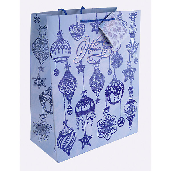 Бумажный пакет Синие новогодние шары для сувенирной продукции, с ламинациейУпаковка новогоднего подарка<br>Характеристики:<br><br>• размер пакета: 32,4х26х12,7 см;<br>• ширина основания: 26 см;<br>• плотность бумаги: 250 г/м2;<br>• масса: 107 г.<br><br>Красивый ламинированный пакет понадобится для упаковки подарков и сувениров. Пакет удобного размера, он может вместить презент среднего размера.<br><br>Тематическая новогодняя иллюстрация на пакете подойдет и для взрослых, и для детей. Две прочные ручки надежно закреплены. Очень плотная бумага хорошо держит форму.<br><br>Подарочный пакет необходим для хорошего оформления подарков друзьям и родным.<br><br>Бумажный пакет «Синие новогодние шары» для сувенирной продукции, с ламинацией, Magic Time можно купить в нашем интернет-магазине.<br><br>Ширина мм: 325<br>Глубина мм: 260<br>Высота мм: 1<br>Вес г: 107<br>Возраст от месяцев: 36<br>Возраст до месяцев: 2147483647<br>Пол: Унисекс<br>Возраст: Детский<br>SKU: 7317207