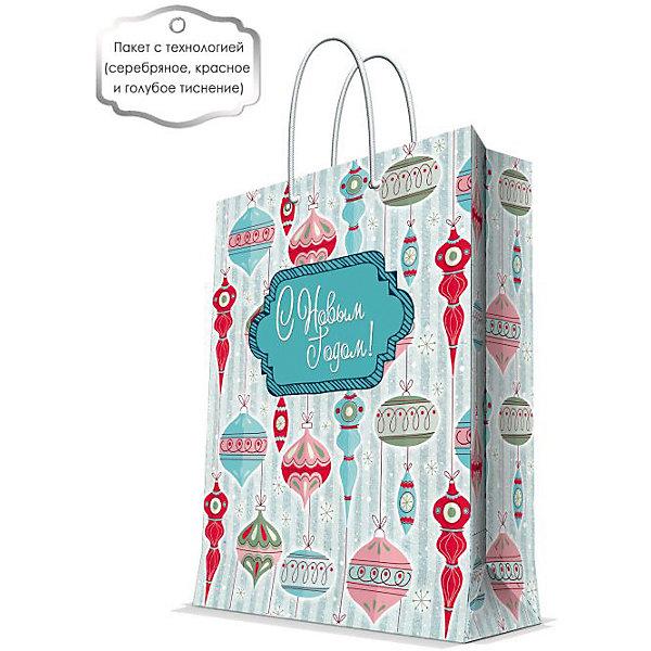 Бумажный пакет Стеклянные сосулькм для сувенирной продукции, с ламинациейУпаковка новогоднего подарка<br>Характеристики:<br><br>• размер пакета: 32,4х26х12,7 см;<br>• ширина основания: 26 см;<br>• плотность бумаги: 250 г/м2;<br>• масса: 107 г.<br><br>Красивый ламинированный пакет понадобится для упаковки подарков и сувениров. Пакет удобного размера, он может вместить презент среднего размера.<br><br>Тематическая новогодняя иллюстрация на пакете подойдет и для взрослых, и для детей. Две прочные ручки надежно закреплены. Очень плотная бумага хорошо держит форму.<br><br>Подарочный пакет необходим для хорошего оформления подарков друзьям и родным.<br><br>Бумажный пакет «Стеклянные сосульки» для сувенирной продукции, с ламинацией, Magic Time можно купить в нашем интернет-магазине.<br><br>Ширина мм: 325<br>Глубина мм: 260<br>Высота мм: 1<br>Вес г: 107<br>Возраст от месяцев: 36<br>Возраст до месяцев: 2147483647<br>Пол: Унисекс<br>Возраст: Детский<br>SKU: 7317210
