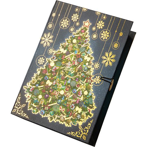 Подарочная коробка Новогодняя ночь-MНовогодние коробки<br>Характеристики:<br><br>• размер коробки: 20х14х6 см;<br>• плотность картона: 1100 г/м2;<br>• масса: 149 г.<br><br>Красивая подарочная коробка поможет красиво упаковать презент. Небольшая коробочка может вместить небольшой сувенир.<br><br>Тематическая новогодняя иллюстрация на упаковке подойдет и для взрослых, и для детей. Мелованный негофрированный картон хорошо держит форму.<br><br>С помощью подарочных коробочек с цветным декоративным рисунком можно быстро и эффектно оформить подарки друзьям и родным.<br><br>Подарочную коробку «Новогодняя ночь M», Magic Time можно купить в нашем интернет-магазине.<br>Ширина мм: 200; Глубина мм: 140; Высота мм: 60; Вес г: 149; Возраст от месяцев: 36; Возраст до месяцев: 2147483647; Пол: Унисекс; Возраст: Детский; SKU: 7317219;