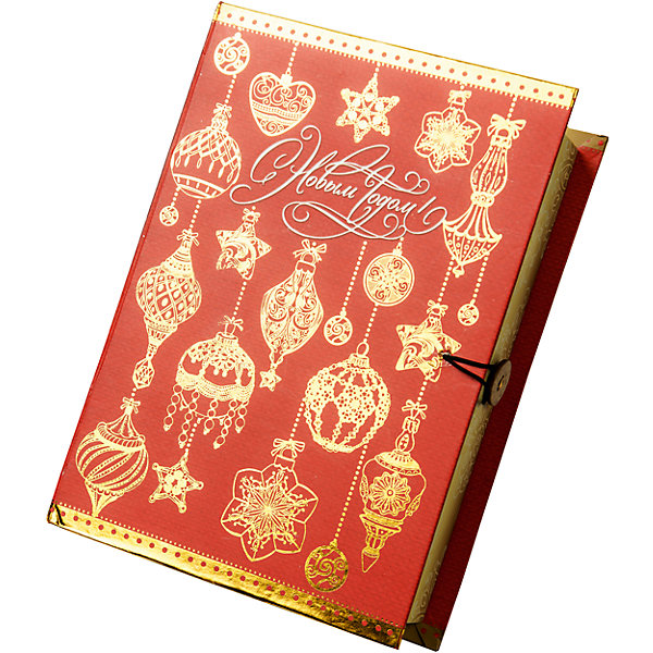 Подарочная коробка Золото на красном-MУпаковка новогоднего подарка<br>Характеристики:<br><br>• размер коробки: 20х14х6 см;<br>• плотность картона: 1100 г/м2;<br>• масса: 149 г.<br><br>Красивая подарочная коробка поможет красиво упаковать презент. Небольшая коробочка может вместить небольшой сувенир.<br><br>Тематическая новогодняя иллюстрация на упаковке подойдет и для взрослых, и для детей. Мелованный негофрированный картон хорошо держит форму.<br><br>С помощью подарочных коробочек с цветным декоративным рисунком можно быстро и эффектно оформить подарки друзьям и родным.<br><br>Подарочную коробку «Золото на красном M», Magic Time можно купить в нашем интернет-магазине.<br>Ширина мм: 200; Глубина мм: 140; Высота мм: 60; Вес г: 149; Возраст от месяцев: 36; Возраст до месяцев: 2147483647; Пол: Унисекс; Возраст: Детский; SKU: 7317223;