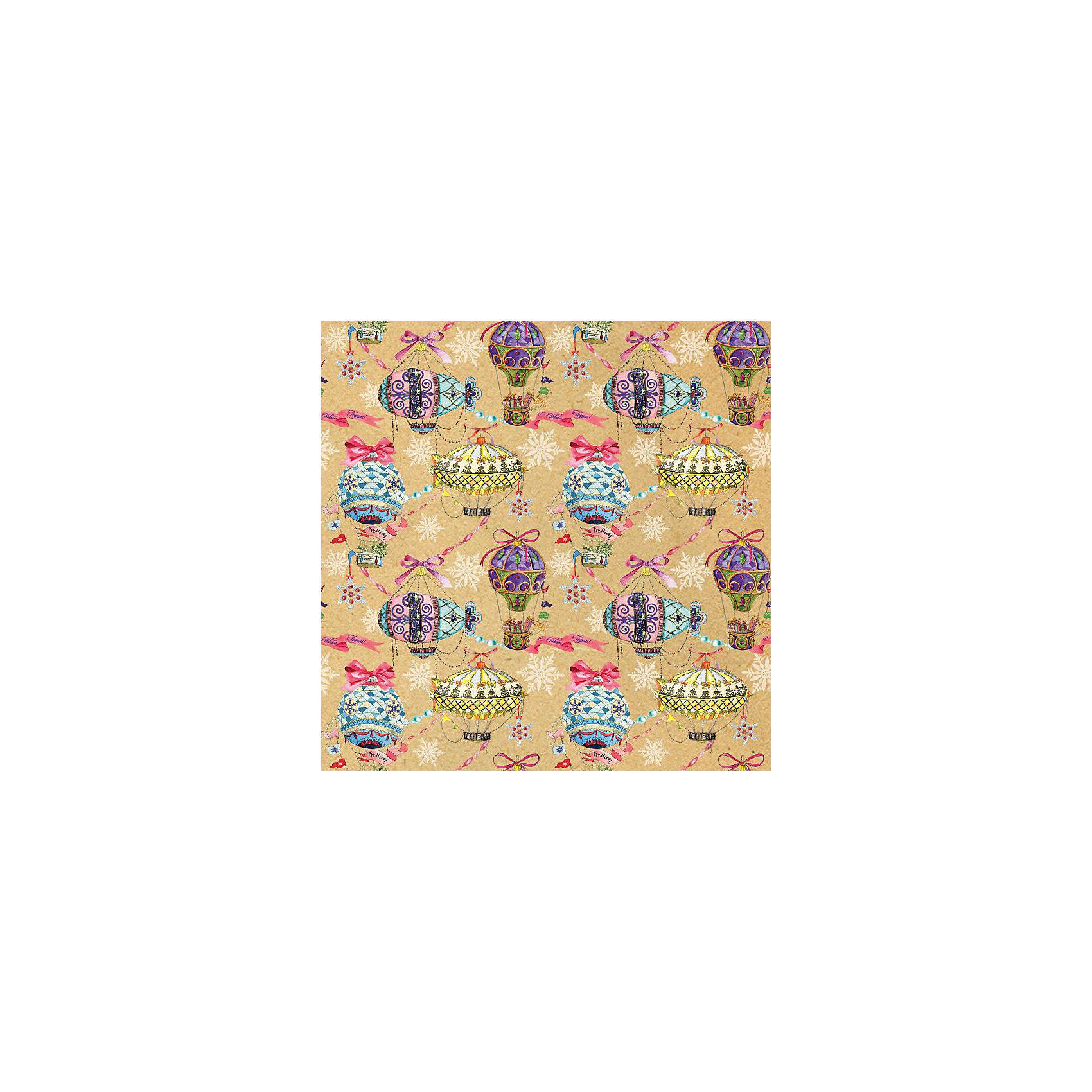 Крафт бумага Праздничные шары для сувенирной продукции от myToys